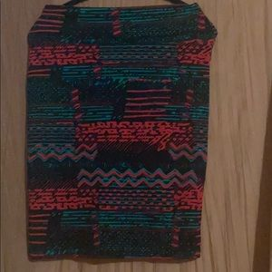 "LuLaRoe Awesome Pattern ""Cassie"" type skirt!"